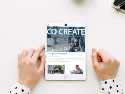 Ab sofort erhältlich: Die Co-Create App </br></br>